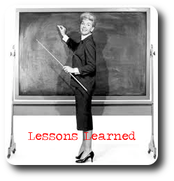 Lessons Learned CE