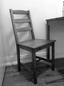 Okay the chair wasn't quite like this, but still.