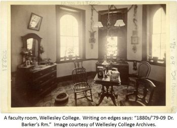 faculty room Wellesley
