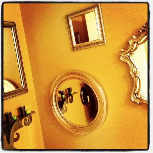 Just a few mirrors!
