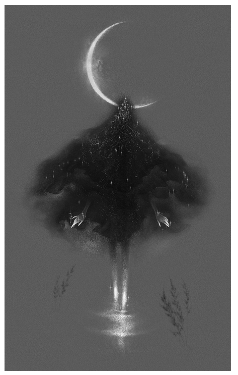 """""""Moon"""" on behance.com. To see other work by Gunel Gasanova, click HERE."""